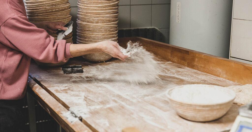Moulin de Vencimont - La boulangerie