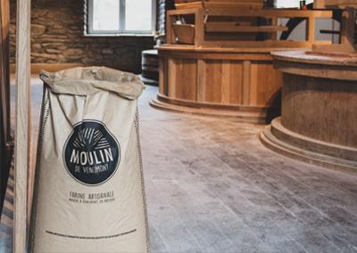 Moulin de Vencimont - La meunerie